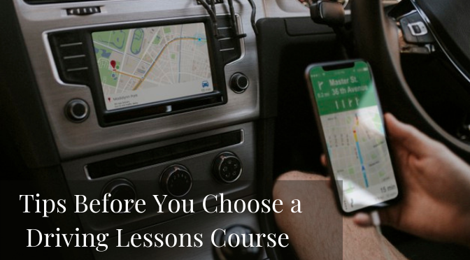 Tips Before You Choose a Driving Lessons Course